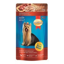 สมาร์ทฮาร์ทอาหารสุนัขเปียกรสเนื้อ (แพ็ก6)