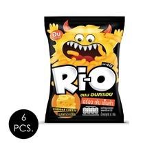ริโอ้ ขนมอบกรอบรสเชดดาร์ชีส 35 กรัม (แพ็ก 6 ชิ้น)
