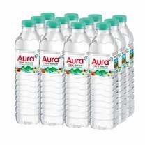 น้ำแร่ออร่า 500 มิลลิลิตร (แพ็ก 12)