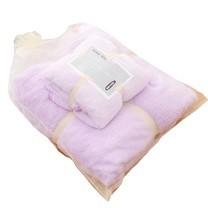 ชุดของขวัญ ผ้าขนหนู Set B สีม่วง