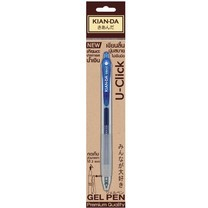 ปากกาเจลหมึกน้ำเงิน U-Click0.5 Kian-da