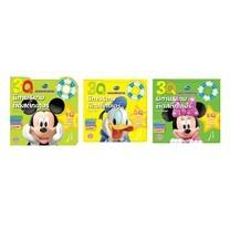 หนังสือชุดนิทานและเกมติดสติ๊กเกอร์พัฒนาศักยภาพ 3Q Mickey วัย 2-3 ขวบ