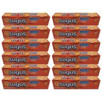 ซูกัส ลูกอมจัมโบ้ส้มแท่ง 48 กรัม ( แพ็ก 12 )