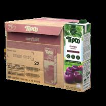 ทิปโก้ น้ำพรุนผสมน้ำองุ่น 100% 1000 มล. (ยกลัง 12 กล่อง)