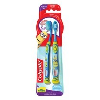คอลเกตแปรงสีฟันเด็กสไมล์มินเนี่ยน (แพ็กคู่)