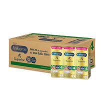 เอนฟาโกร ซุพีเรียร์ นมยูเอชที สูตร4 รสจืด 180 มล. (ยกลัง 24 กล่อง)