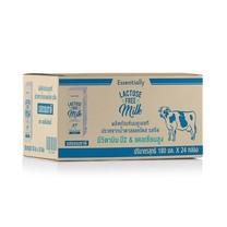 นม UHT เอสเซ็นเชียลลี่ฟรีแลคโตสจืด 180 มิลลิลิตร (ขายยกลัง 24 กล่อง)