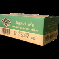 นมอัลมอนด์บรีซ ชาเขียว 180 มิลลิลิตร (ขายยกลัง 24 กล่อง)