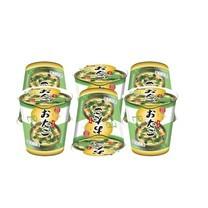 โอทาโกะซุปไข่ผสมผักโขมกึ่งสำเร็จรูปชนิดถ้วย 9 กรัม 1X6