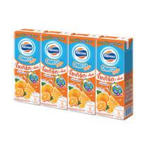 โฟร์โมสต์ โอเมก้า นมเปรี้ยวUHT รสส้ม 170 มิลลิลิตร (ขายยกลัง 48 กล่อง)