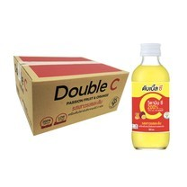 ดับเบิ้ลซี รส เสารสและส้ม 160 มล. (ยกลัง 30 ขวด)