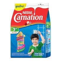 เนสท์เล่คาร์เนชั่นสมาร์ทโกวันพลัส นมผงสูตร 4 กลิ่นวานิลลา สำหรับเด็กอายุ 3 ปีขึ้นไป 550 ก.