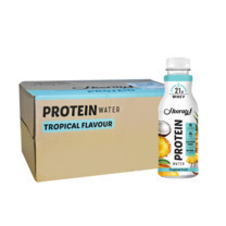 ฮูเร่ เครื่องดื่มเวย์โปรตีน ทรอปิคอล 450 มิลลิลิตร (ยกลัง 24 ขวด)