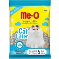 มีโอ ทรายแมว5 ลิตร กลิ่นธรรมชาติ