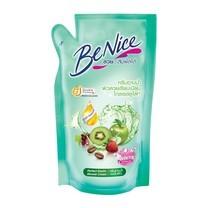 บีไนซ์ครีมอาบน้ำ สูตรเพื่อผิวนุ่มกระชับ เขียว 400 มล ถุงเติม