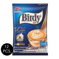 เบอร์ดี้ 3in1 ริชลาเต้ สูตรน้ำตาลน้อย 12.1 กรัม (8 ซอง/ถุง) แพ็ก 12 ถุง