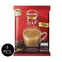 มอคโคน่าทรีโอ 3in1 ริชแอนด์สมูท 18 กรัม (9 ซอง/ถุง) แพ็ก 6 ถุง