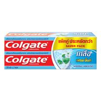 คอลเกตยาสีฟันเกลือ เฟรชมิ้นท์ (แพ็กคู่)