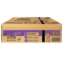 ดีน่า ถั่วเหลืองUHT ไรซ์เบอร์รี่ 180 มิลลิลิตร (ขายยกลัง 48กล่อง)