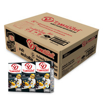 ไวตามิลค์ดับเบิ้ลแบล็ค กล่อง นมถั่วเหลืองUHT 300มิลลิลิตร (ขายยกลัง 36 กล่อง)