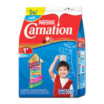นมผงคาร์เนชั่น1+สูตร3 รสจืด 550 กรัม