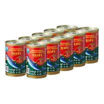 โรซ่าปลาแมคเคอเรลในซอสมะเขือเทศแบบฝาดึง 155 ก. แพ็ก 10
