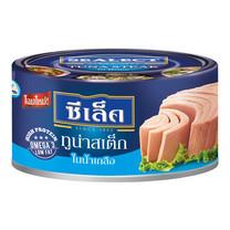 ซีเล็คทูน่าสเต็กในน้ำเกลือ 80 กรัม