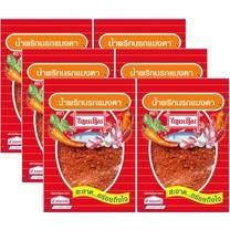 น้ำพริกนรกแมงดาไทยเดิม 22 กรัม แพ็ก 6