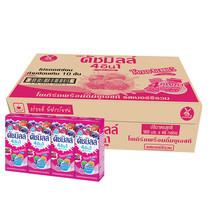 ดัชมิลล์ นมเปรี้ยวUHT รสมิกซ์เบอรี่ 180มิลลิลิตร (ขายยกลัง 48 กล่อง)