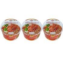 คุดกิ้งทาวน์บะหมี่กึ่งสำเร็จรูปชนิดชามรสต้มยำกุ้ง 60 กรัม แพ็ก 3