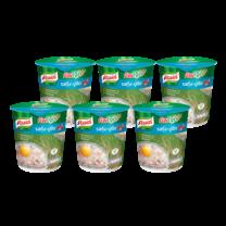 คนอร์คัพโจ๊กรสกุ้ง-ปูอัดชนิดถ้วย 35 กรัม 1X6