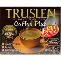 ทรูสเลนคอฟฟี่พลัส กาแฟ 3in1 กล่อง 10 ซอง
