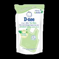 น้ำยาซักผ้าเด็กดีนี่นิวบอร์นอโลเวร่าเขียว 560 มล. ( 1 แพ็ก 3 ชิ้น)