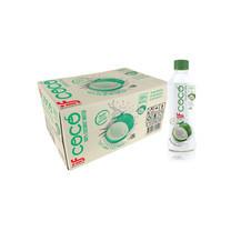 อีฟโคโค่ น้ำมะพร้าวแท้ 100% 350 มิลลิลิตร (ยกลัง 24 ขวด)
