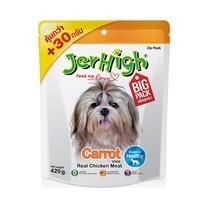 ขนมสุนัขเจอร์ไฮ สติ๊ก รสไก่และแครอท 420ก.