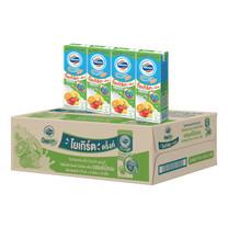 โฟร์โมสต์ โอเมก้า นมเปรี้ยวUHT รสผลไม้รวม 170 มิลลิลิตร (ขายยกลัง 48 กล่อง)