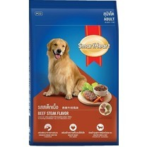 อาหารสุนัขโตสมาร์ทฮาร์ท รสเนื้อสเต็ก 2.6 กก.