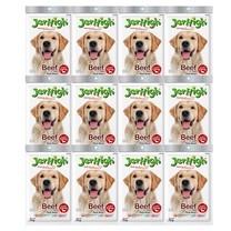 ขนมสุนัขเจอร์ไฮ สติ๊ก เนื้อวัว 70ก. (1แพ็ก 12 ชิ้น)