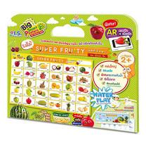 ชุดโปสเตอร์ภาพคำศัพท์ผลไม้ Super Fruity