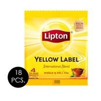 ลิปตัน ชาผงชนิดซองฉลากสีเหลือง 8 กรัม (แพ็ก 18 ซอง)