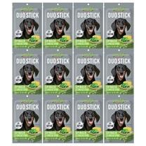 ขนมสุนัขเจอร์ไฮ ดูโอ้ สติ๊ก ผักโขมและชีส 50ก. (1แพ็ก 12 ชิ้น)