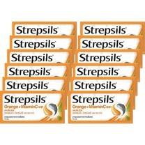 สเตร็ปซิลยาอมวิตามินซี 3 เม็ด ( แพ็ก 12 )