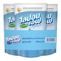 ไลปอนเอฟน้ำยาล้างจาน 550 มิลลิลิตร (แพีก3)
