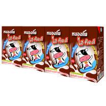 หนองโพ นมUHT รสช็อคโกแลต 125 มิลลิลิตร แพ็ก 4