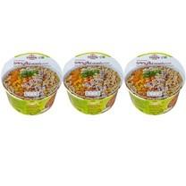 คุดกิ้งทาวน์บะหมี่กึ่งสำเร็จรูปชนิดชามรสหมูสับ 60 กรัม แพ็ก 3