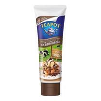 นมข้นหวานหลอดรสช็อกโกแลต ทีพอท 180 กรัม