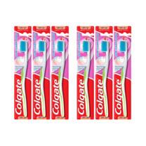 คอลเกตแปรงสีฟันกัมคลีน (แพ็ก6)