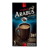 กาแฟอาราบัส 3in1 ออริจินัล กล่อง 5 ซอง