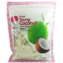 เลิฟไทย มะพร้าวอบแห้ง น้ำตาลน้อย 200 กรัม
