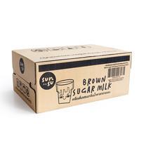 ซันซุ นมน้ำตาลแดง 250 มิลลิลิตร (ยกลัง 24 กระป๋อง)